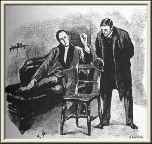 Illustration by Sidney Paget, The Strand Magazine, January 1892