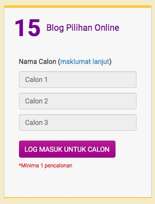 2. Blog Pilihan Online