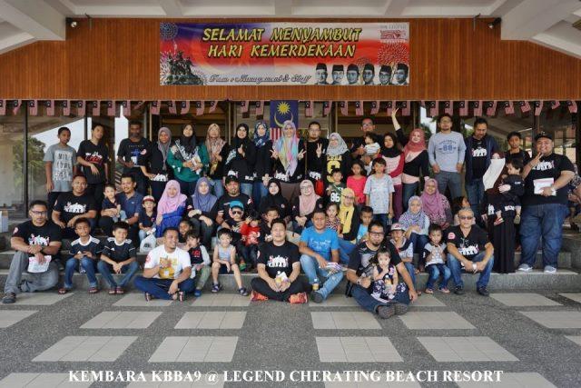 Aktiviti Family Day KBBA9 Di Legend Cherating Beach Resort