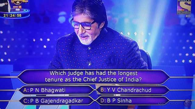 KBC question 2