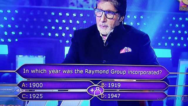 Ques : In which year was the Raymond Group was incorporated?