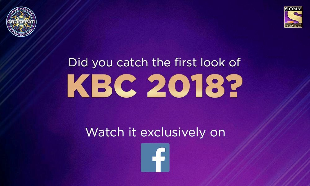 First look of KBC 2018