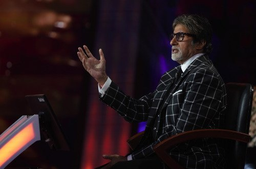 First Day Shooting Amitabh Bachchan KBC 10