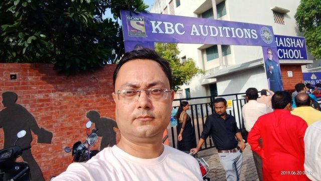 Few Pictures from KBC Auditions 2019