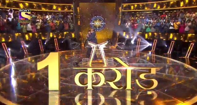 Sanoj Raj -First Crorepati of the Season – Here the Question worth one Crore