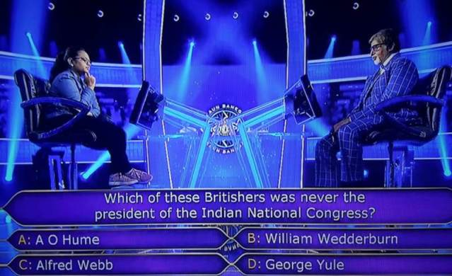 Ques : Which of these Britishers was never the president of the Indian National Congress?