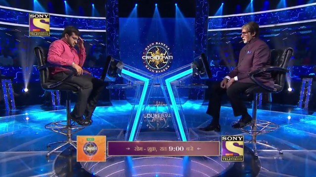 Pratik Kalkal tonight only on KBC11 at 9 PM
