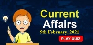 Current-Affairs-9th-feb-2021