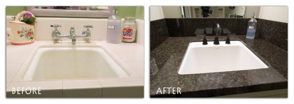 utility bathroom remodel.