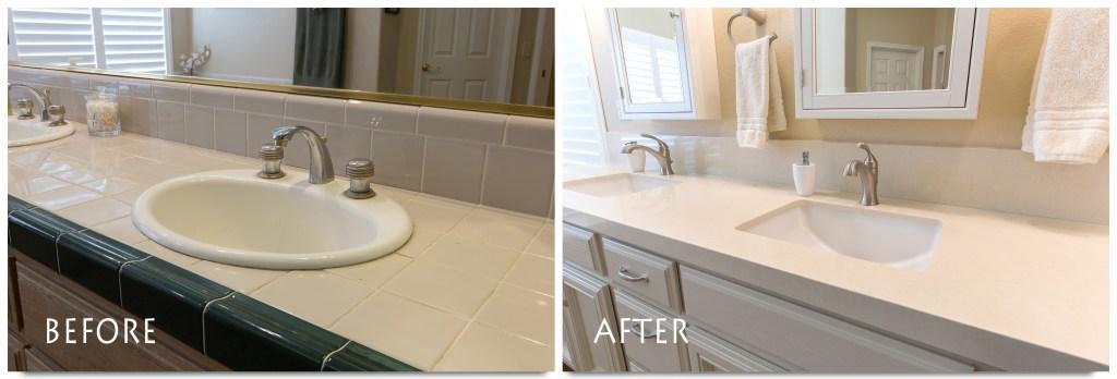 Ceres bathroom remodel.