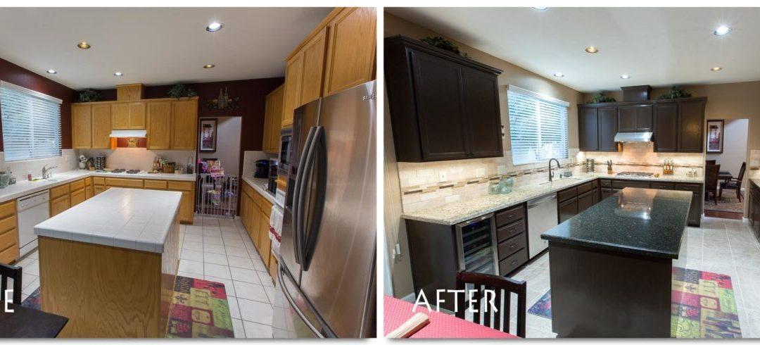 Kitchen Remodel Modesto Complete – kitchenCRATE Loire Drive