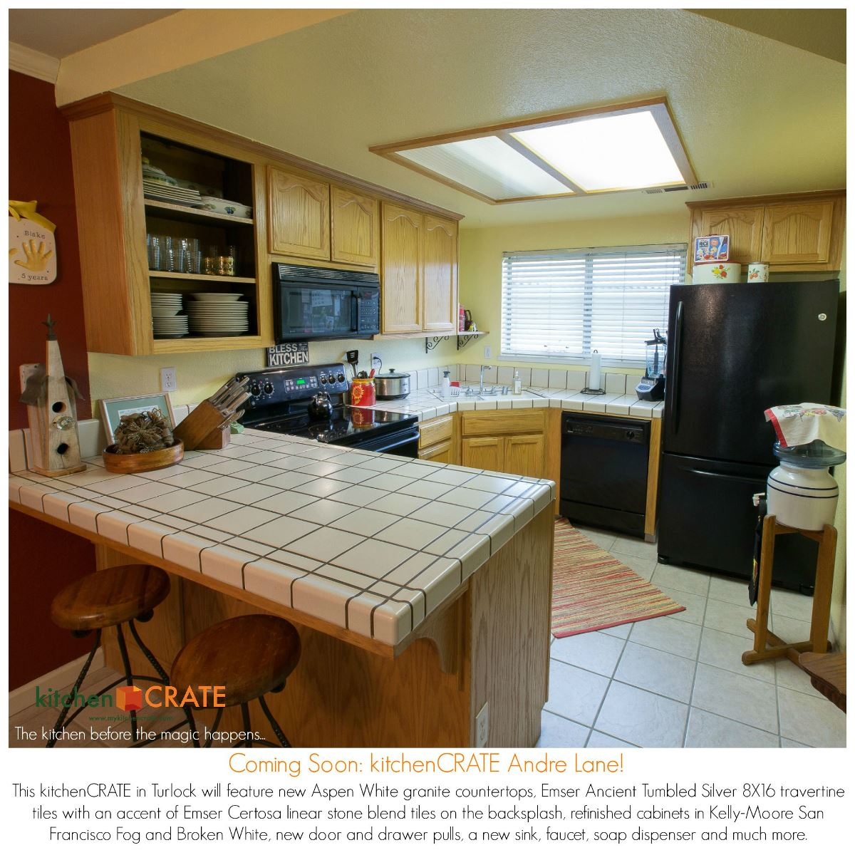 Kitchen Remodel Begins KitchenCRATE Andre Lane In Turlock CA - Bathroom remodel turlock ca