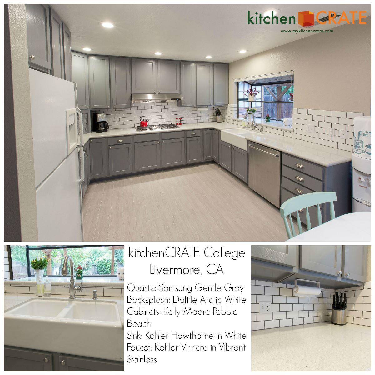 Kitchen Remodel Livermore College Avenue Complete - Daltile livermore