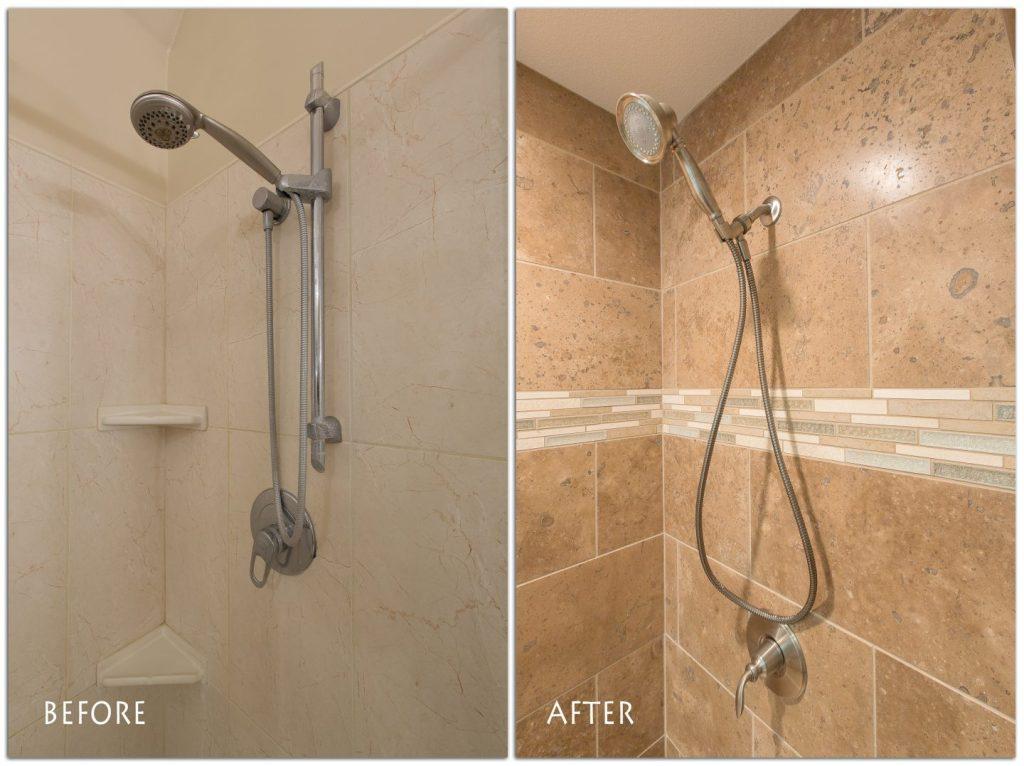shower remodel.