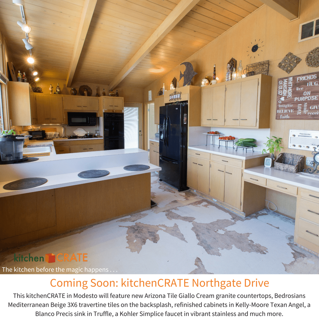 KitchenCRATE Northgate Drive in Modesto, CA Begins! - kitchenCRATE