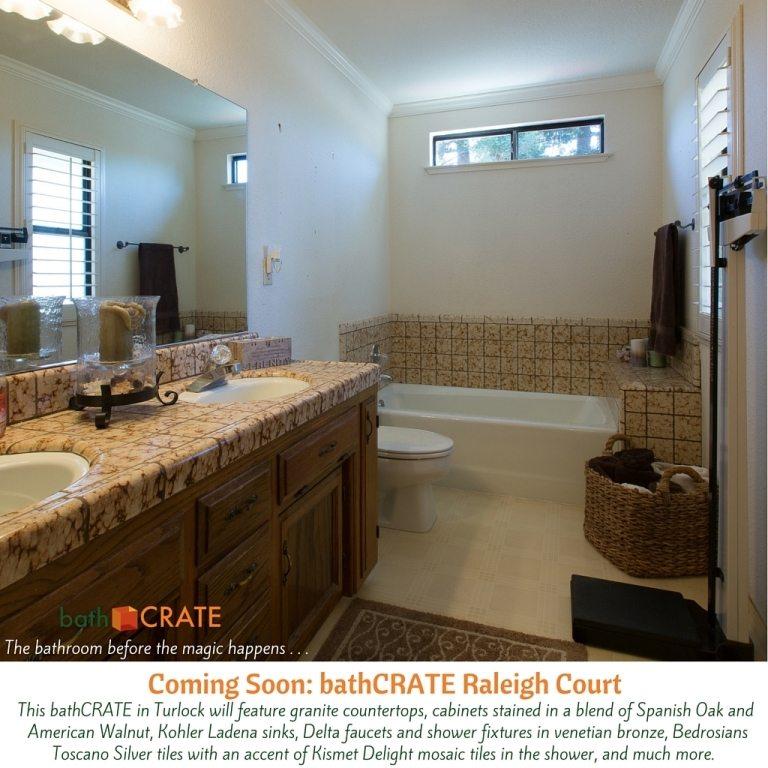 BathCRATE Raleigh Court Begins In Turlock CA Kitchen Bath CRATE - Bathroom remodel turlock ca