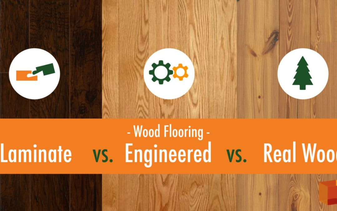 Laminate Engineered Wood Real Wood Flooring Whats The Difference