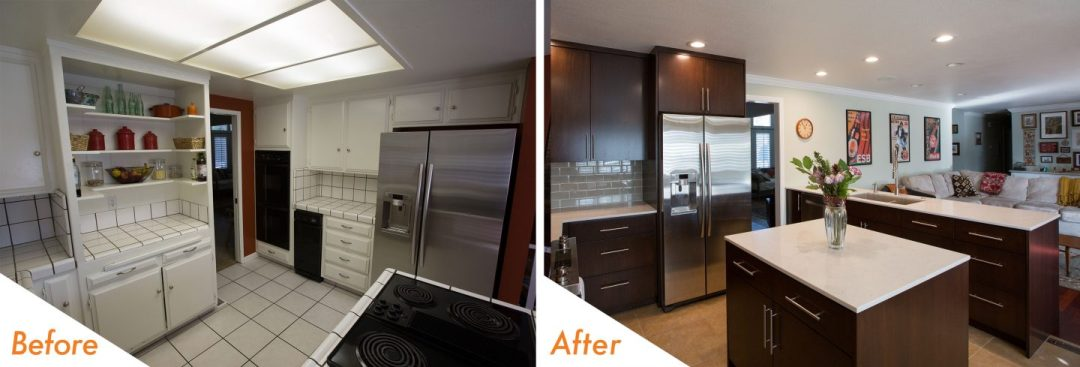 kitchen remodel in Modesto, CA.