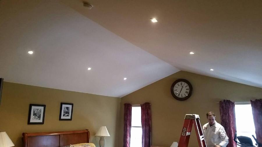 Sloped Ceiling Recessed Lighting   Hire A Licensed Electrician Sloped Ceiling Recessed Lighting