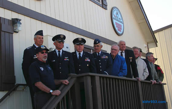 The Civil Air Patrol Squadron 6750, well-represented here at the grand opening, will use the building for meetings and training of cadets, ages 12-21. For more information on the CAP cadets program, call Jim Gundred at 584-9195 or Bruce Black at 584-4120.