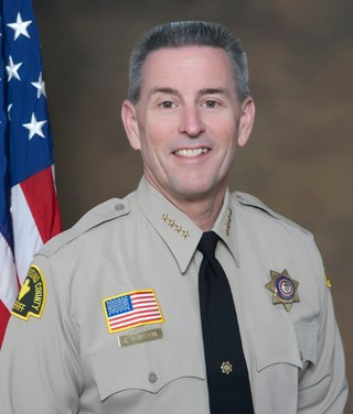 Sheriff McMahon recognizes the Greatest of Gift Givers