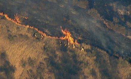 Sterling Fire Reported in the City of San Bernardino
