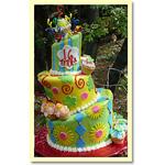 Topsy Turvy Cake by Trish Gordon of Sugar Pine Bake Shop