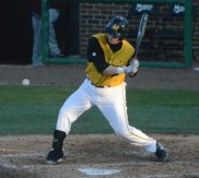 Missouri catcher Dylan Kelly went 2-5 in Missouri's win over Missouri State. The Tigers beat the Bears 9-4 on Tuesday, April 8, 2014 at Taylor Stadium in Columbia, Mo.