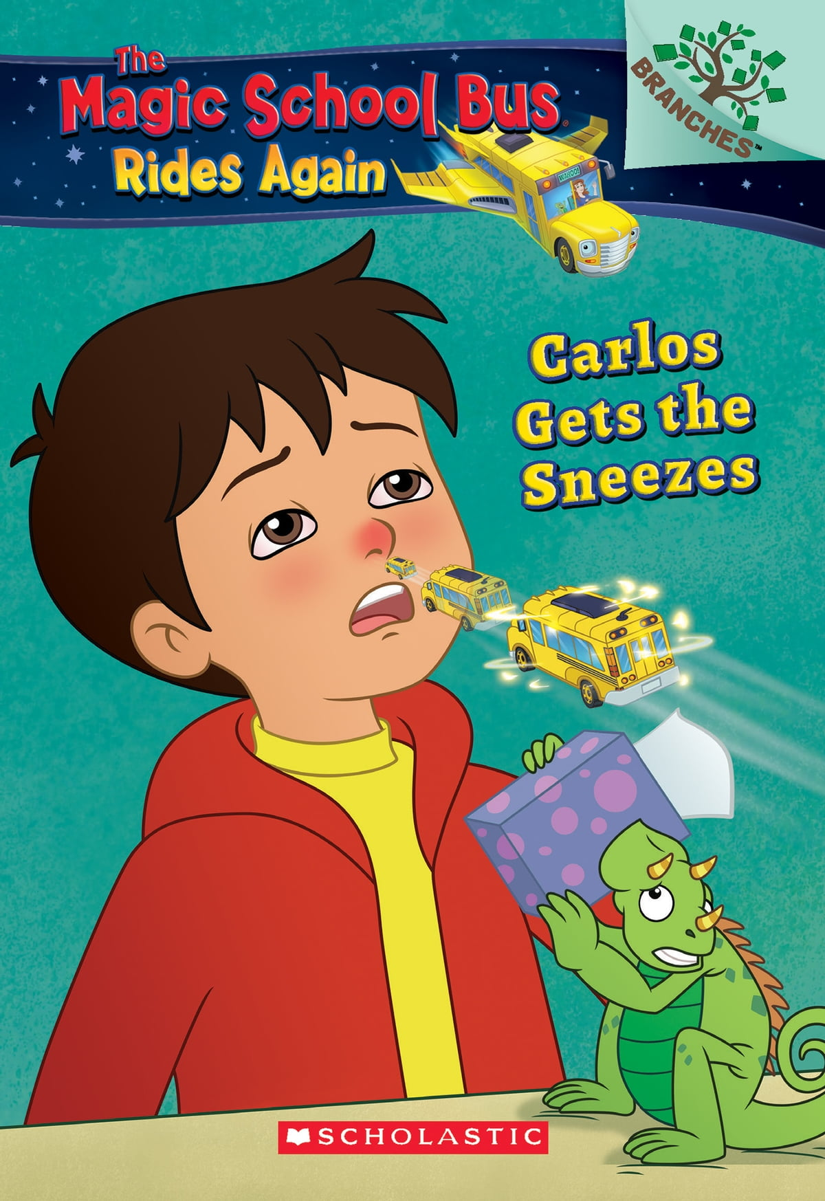 Carlos Gets The Sneezes Exploring Allergies The Magic