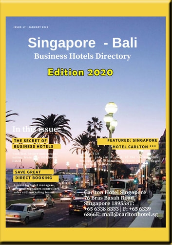 Business Hotels Directory 2020 Singapore & Indonesia - Business Hotels directory of Singapore Indonesia includes recommanded Hotels eBook by Heinz Duthel