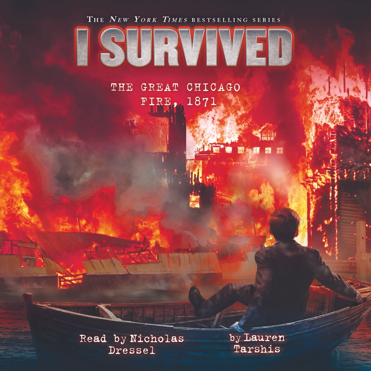 I Survived 11 I Survived The Great Chicago Fire Audiobook By Lauren Tarshis