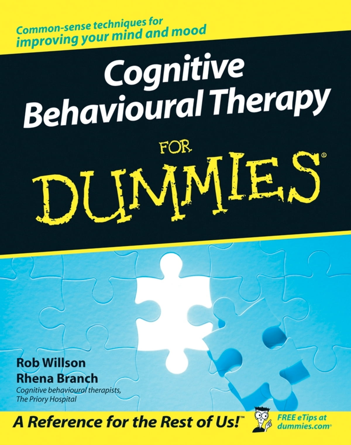 Cognitive Behavioural Therapy For Dummies Ebook De Rob