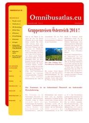 Gruppenreisen Österreich 2014