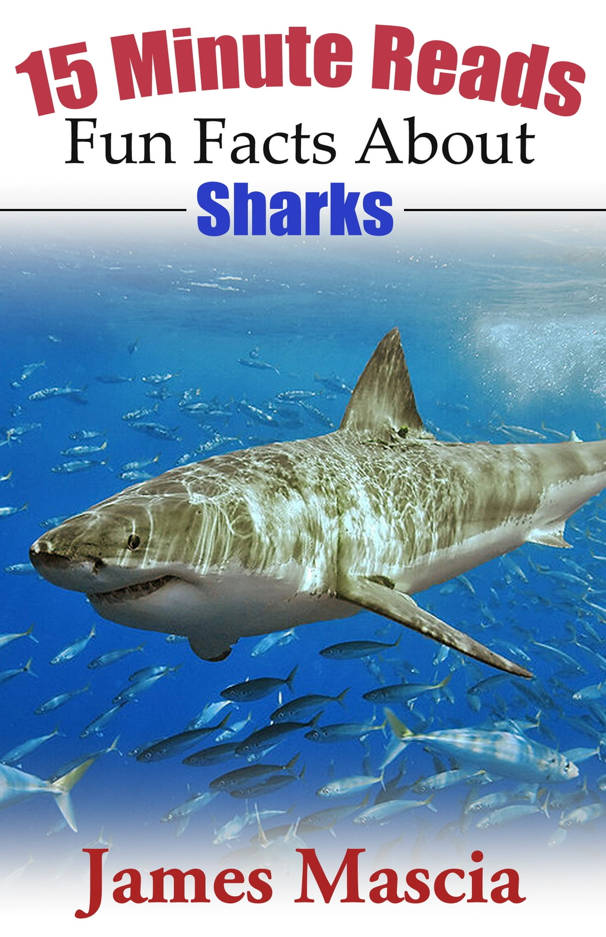 15 Minute Reads Fun Facts About Sharks Ebook By James