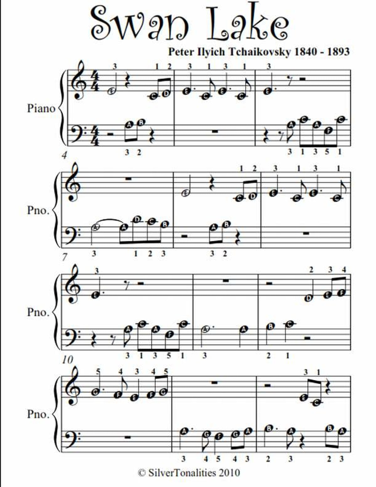 Revered Free Printable Piano Sheet Music For Beginners