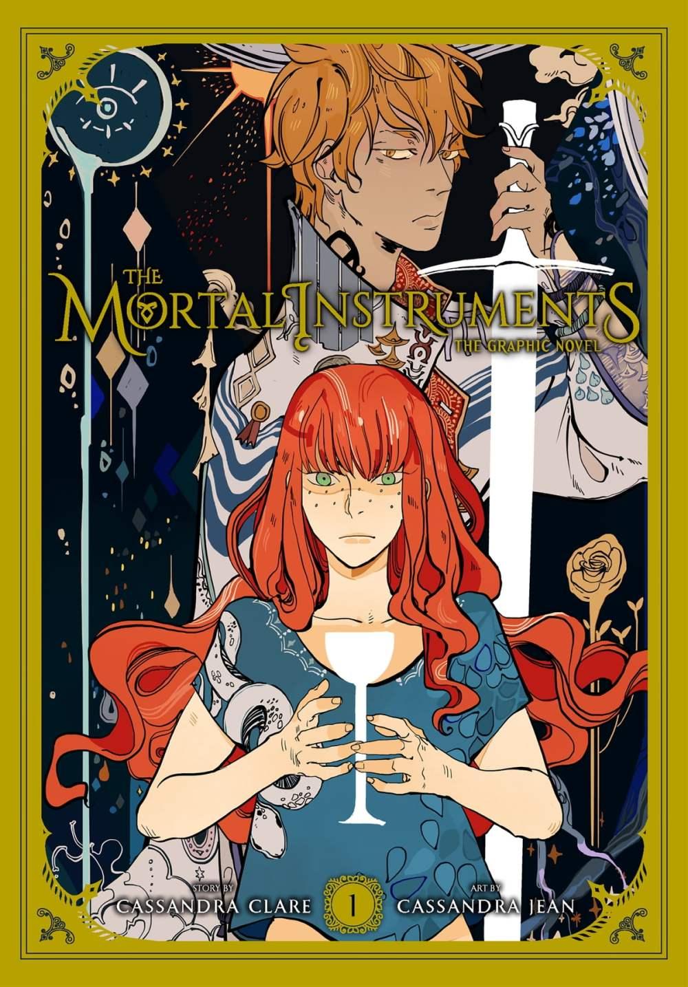 Image result for manga mortal instruments 1