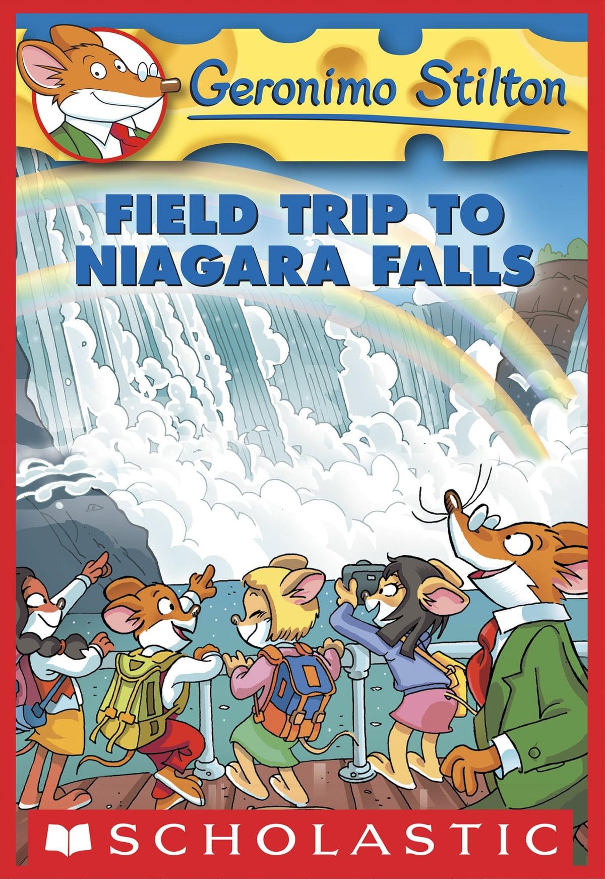 Geronimo Stilton 24 Field Trip To Niagara Falls Ebook By