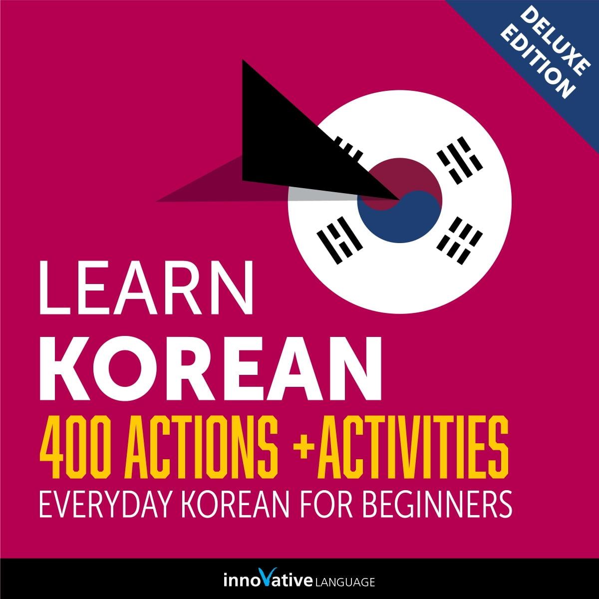 Learn Korean 400 Actions Activities