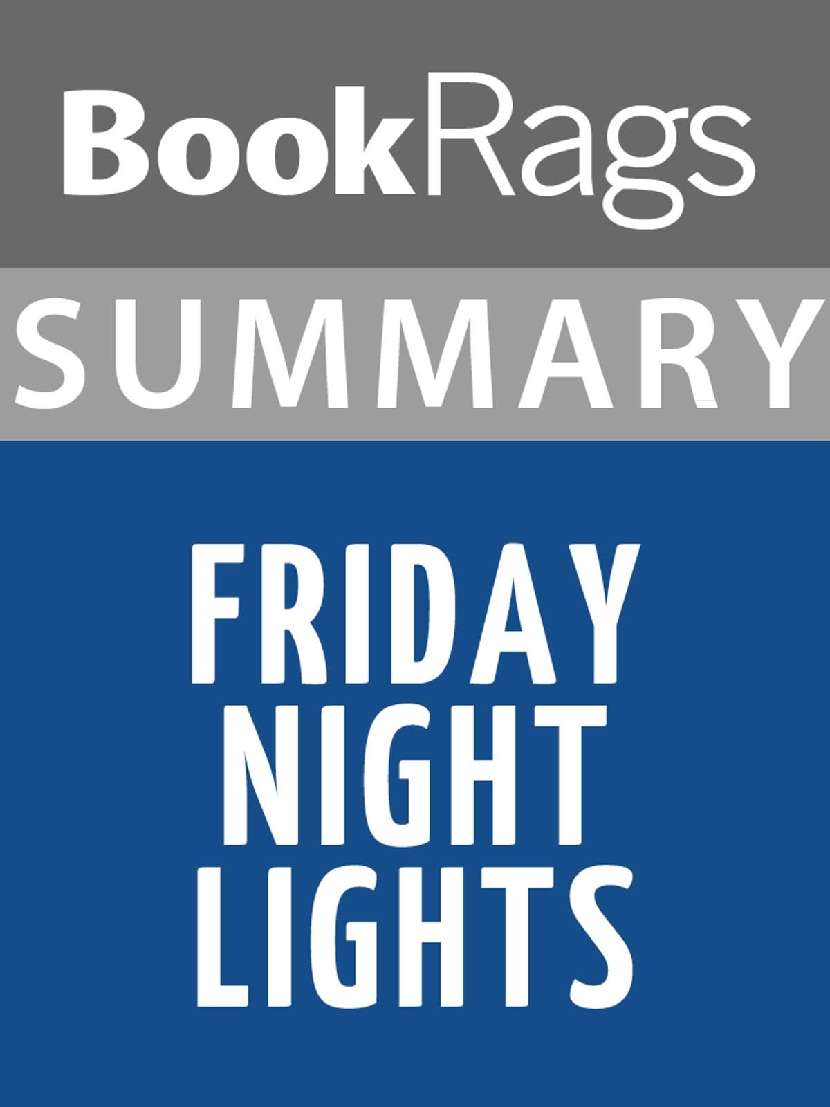 Friday Night Lights Audiobook Free