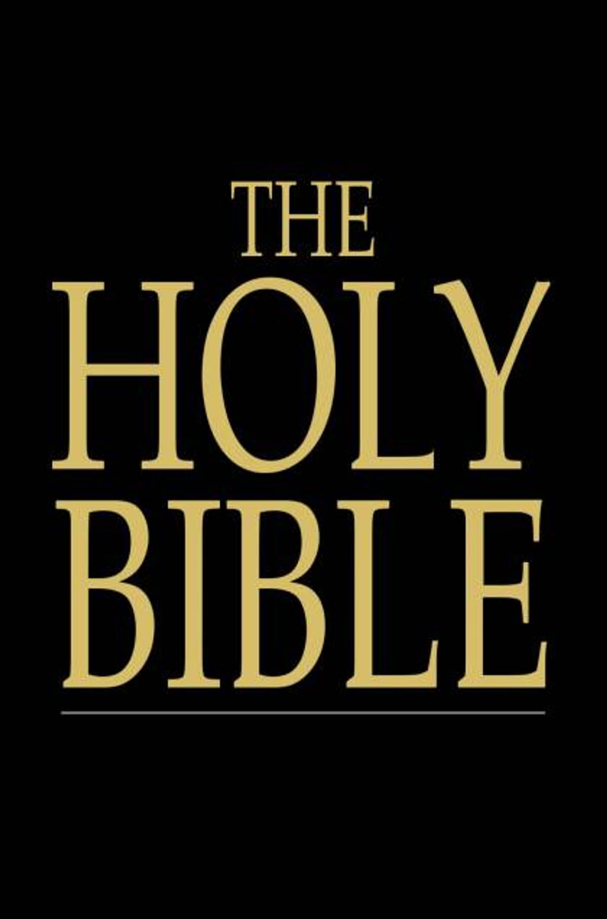The Holy Bible Old And New Testaments King James Version