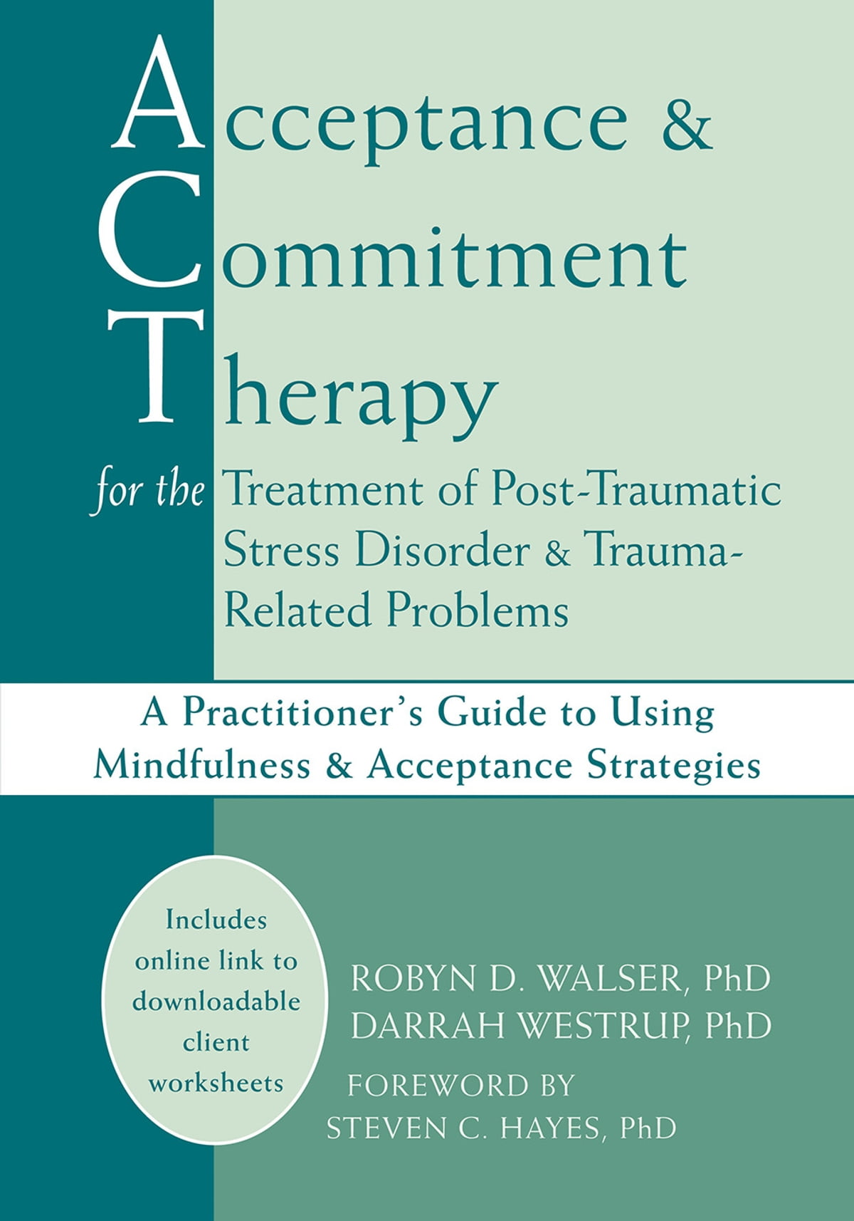 Acceptance And Commitment Therapy For The Treatment Of Post Traumatic Stress Disorder And Trauma