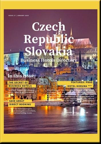 Business Hotel Directory Czech Republic Slovakia - Business Hotel Directory 2019 includes recommanded Hotels, Tourist and Business Informations eBook by Heinz Duthel