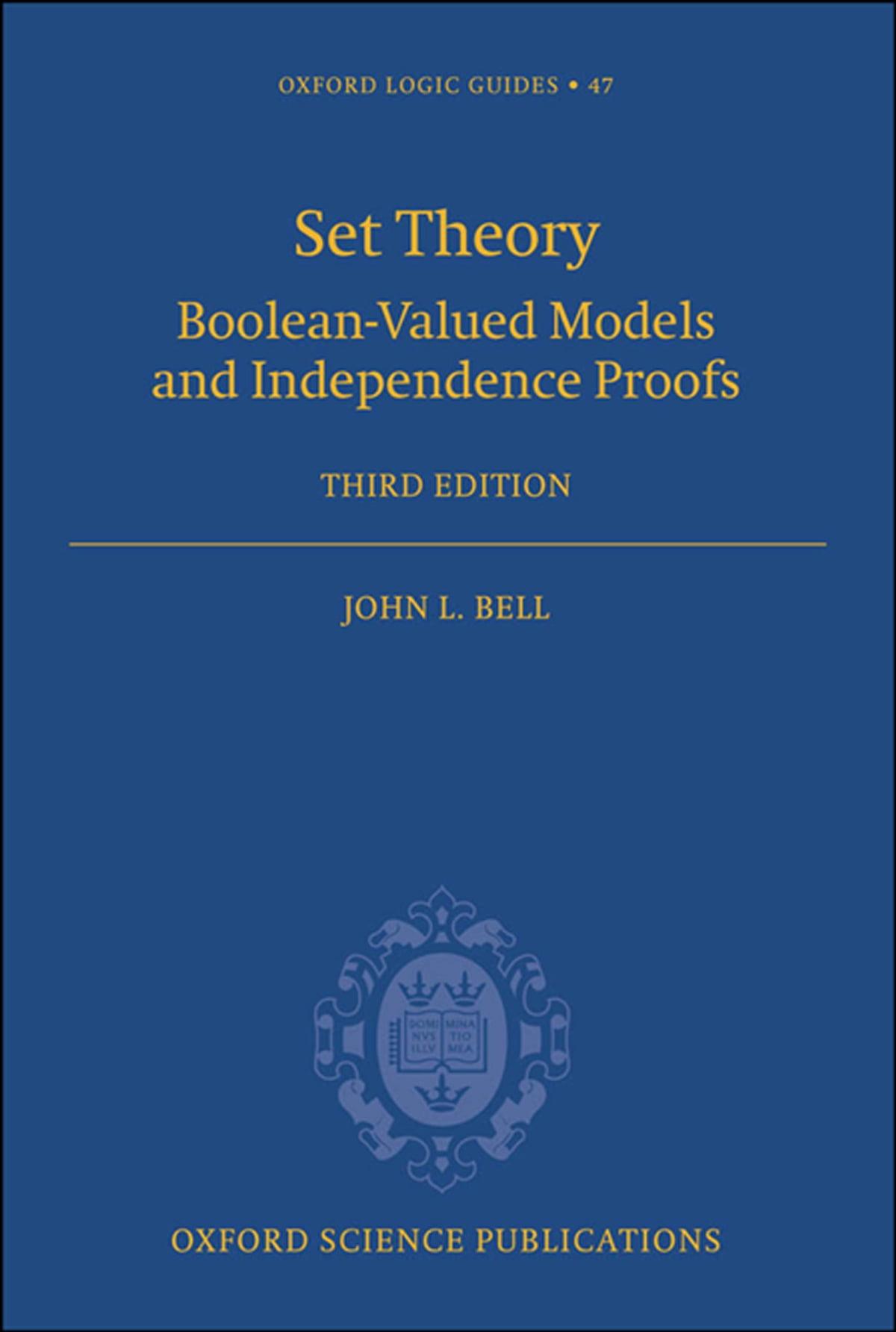 Set Theory eBook by John L. Bell - 9780191620829   Rakuten Kobo