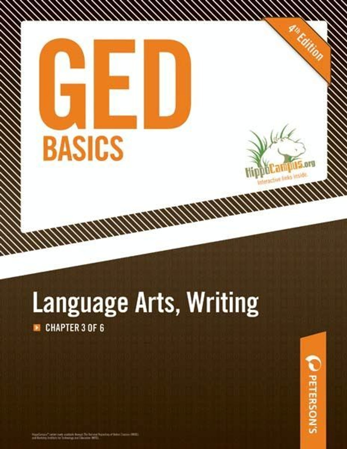 Ged Basics Language Arts Writing Chapter 3 Of 6 Ebook By Peterson S