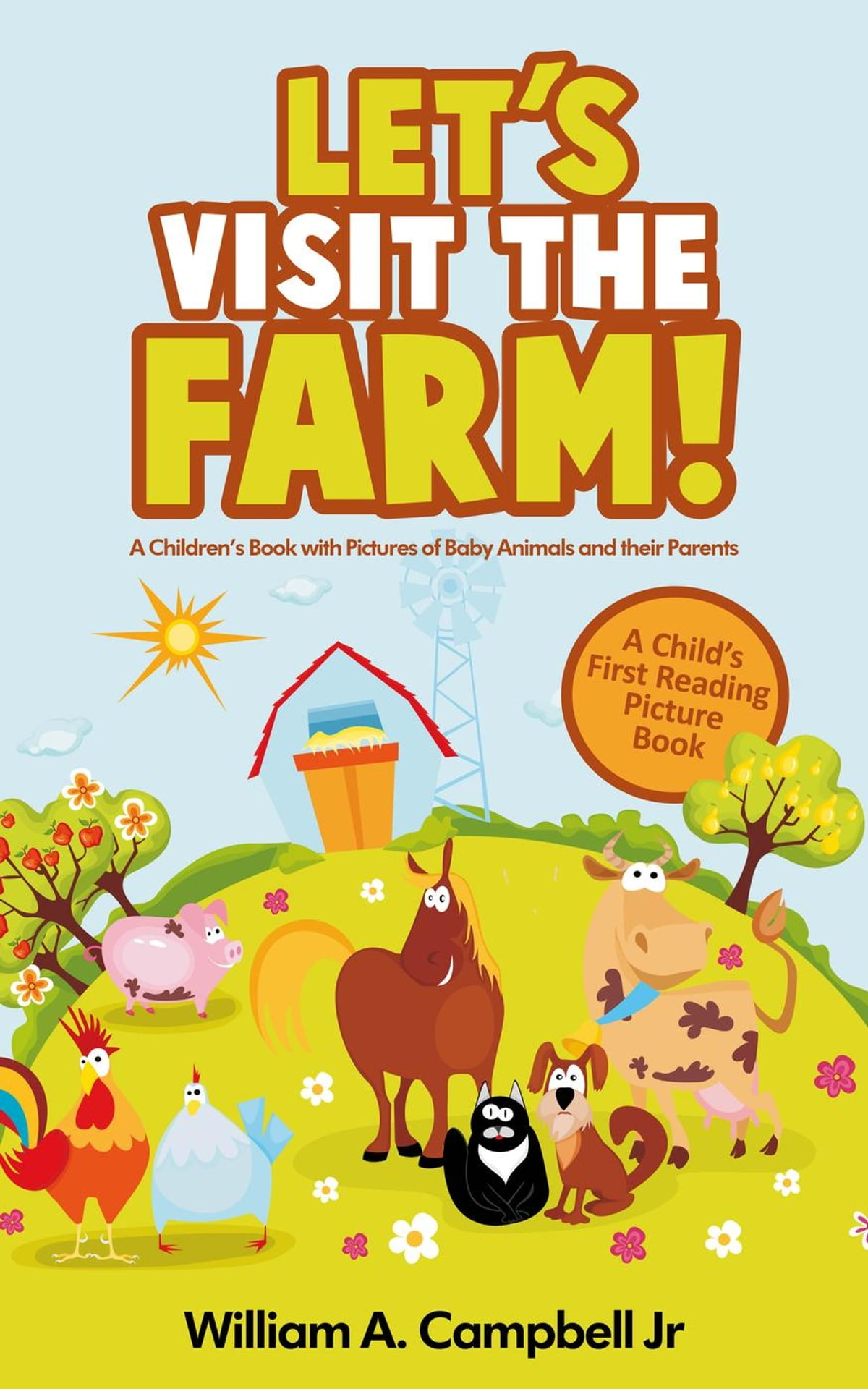 Let S Visit The Farm A Children S Ebook With Pictures Of