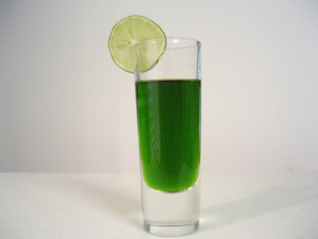 Key Lime Extract Shot