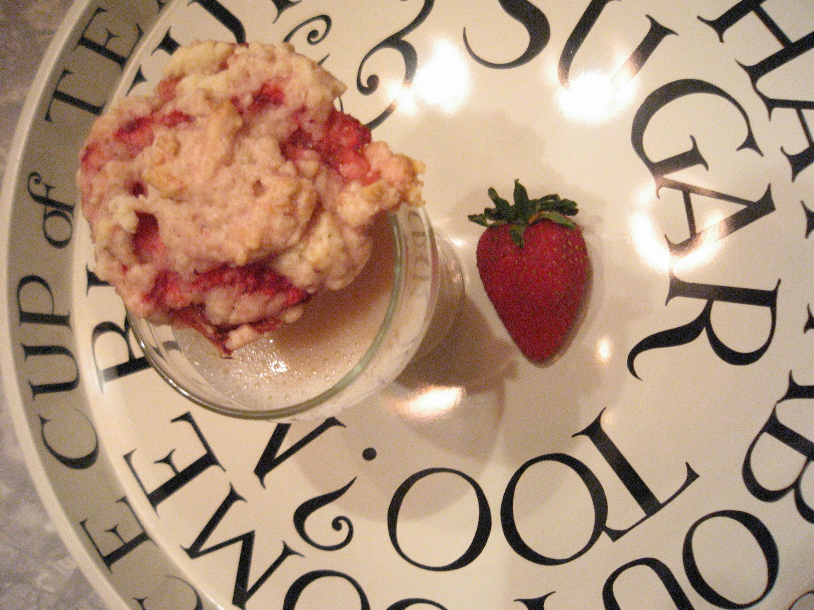Strawberry Shortcake Cookie