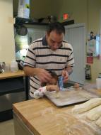 Viviana makes bread!