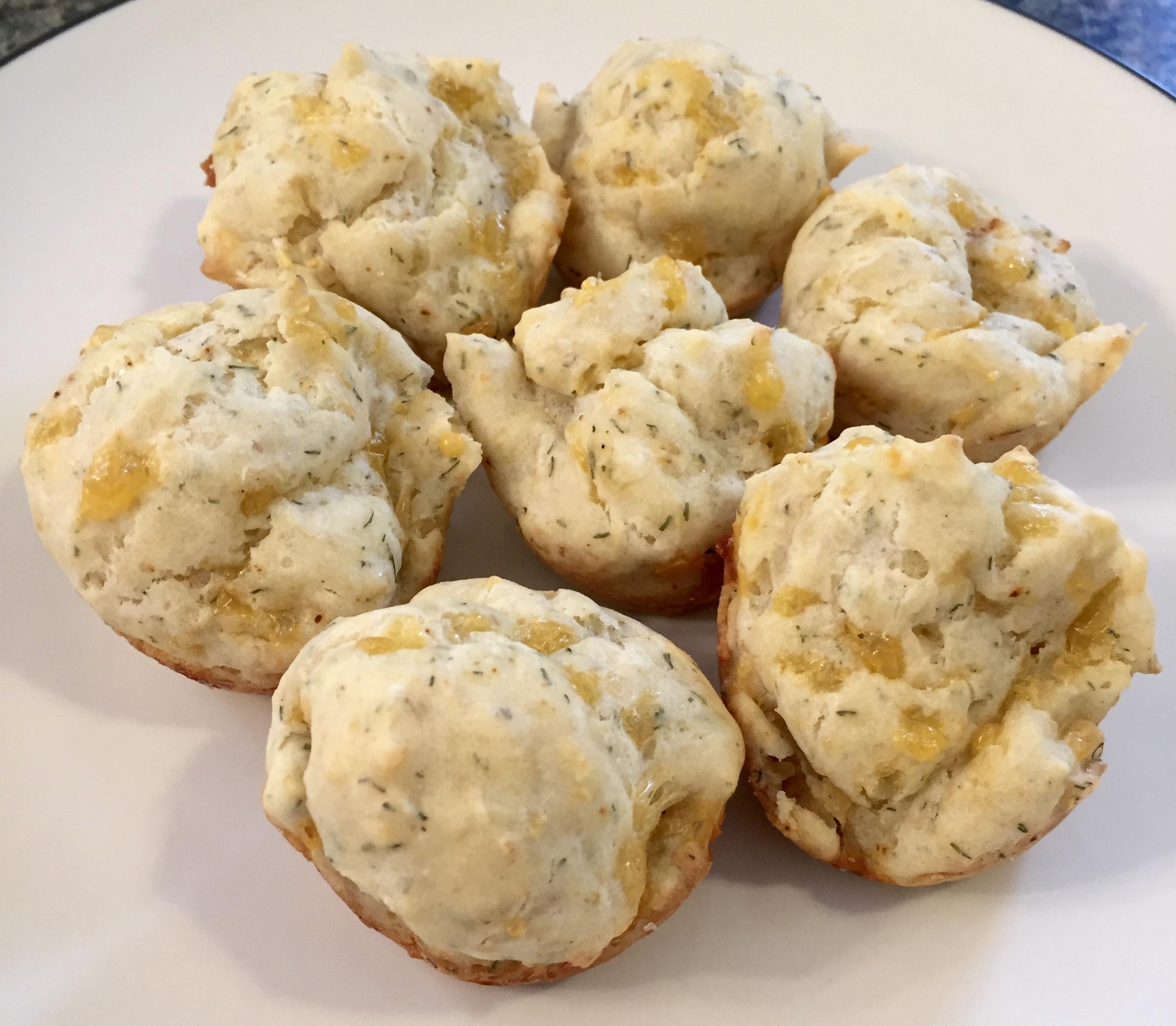 Savory Cheddar Mini Muffins