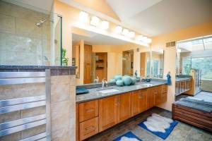 bathroom remodeling project by KBR in Fairfax